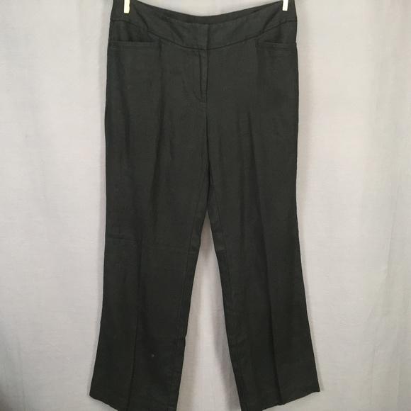b181f4f43fb Ann Taylor LOFT Pants Size 6P 6 Petite Black NEW